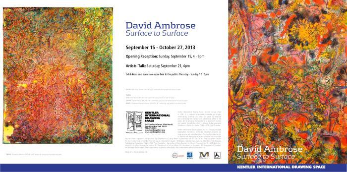 David Ambrose, Surface To Surface