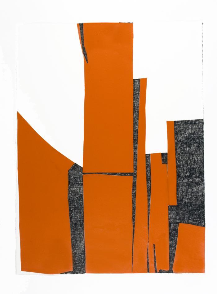 Orange Stacks #2