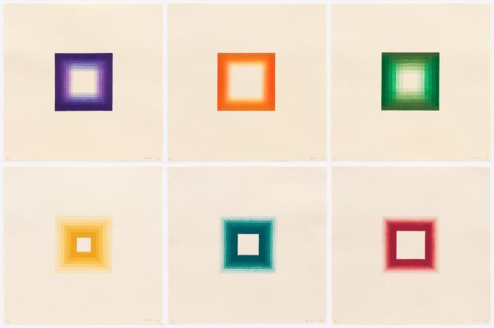 Six White Squares