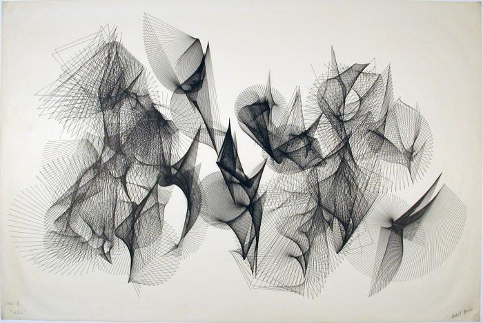 "Herbert Brun, Links III ""All"", 1973"