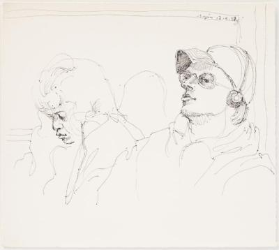 Subway Riders: Three Figures (Headphones)