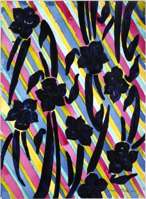 Janet Nolan, Botanicals and Stripes