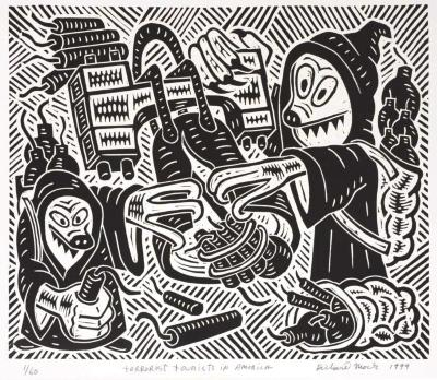 Richard Mock, Terrorist Tourists in America