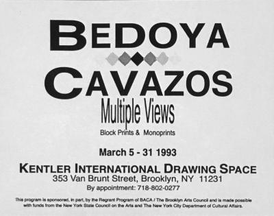 Bedoya / Cavazos, Multiple Views