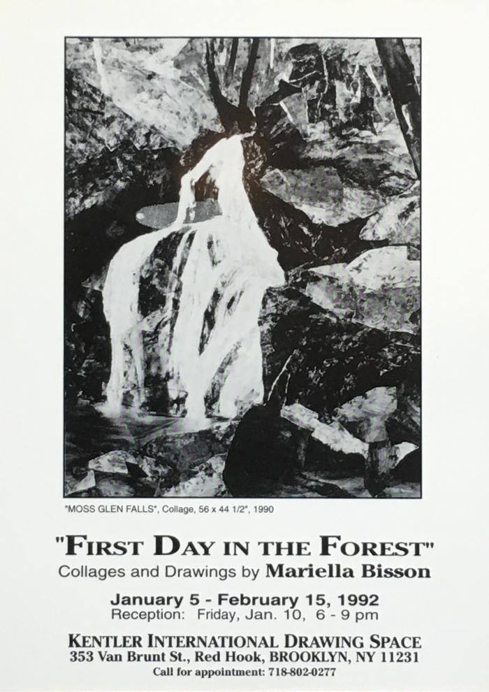 Mariella Bisson, First Day in the Forest
