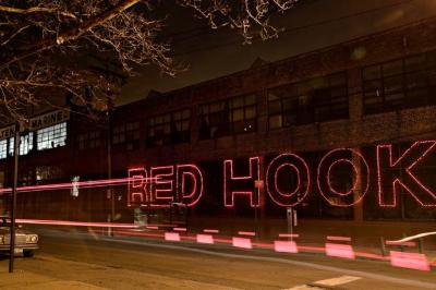 Carol Dragon, Red Hook, Bus Lights