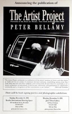 Peter Bellamy, The Artists Project