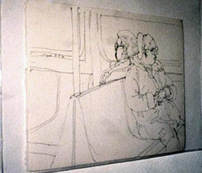 Richard Gins, Subway Riders