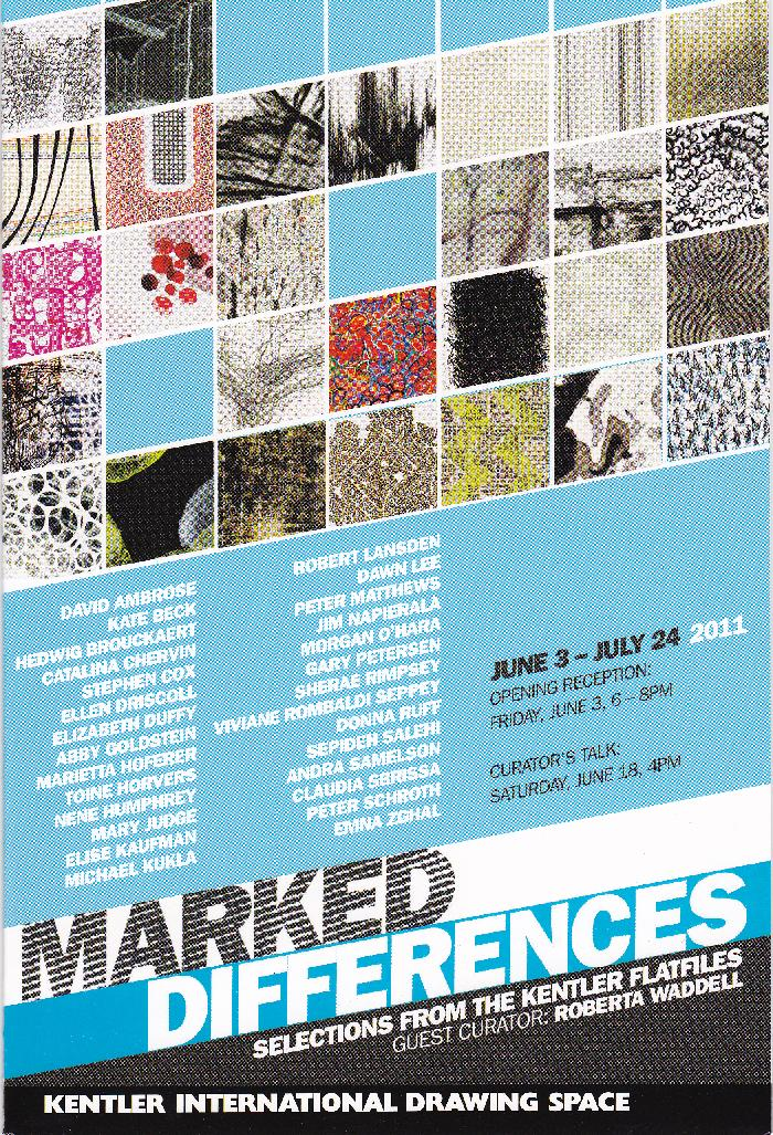 Marked Differences: Selections from the Kentler Flatfiles