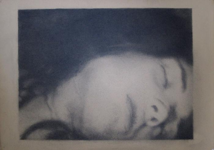 Paul Goss, Untitled (Woman's Head)