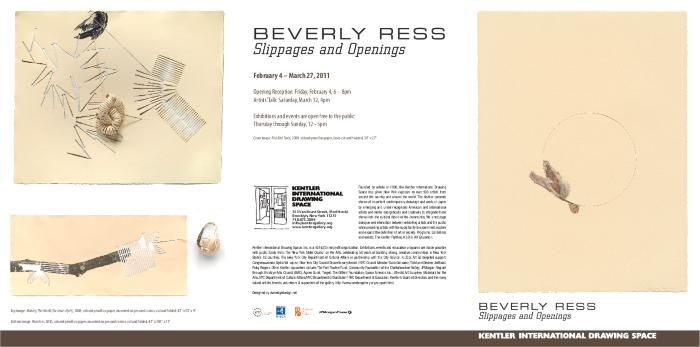 Beverly Ress, Slippages and Openings