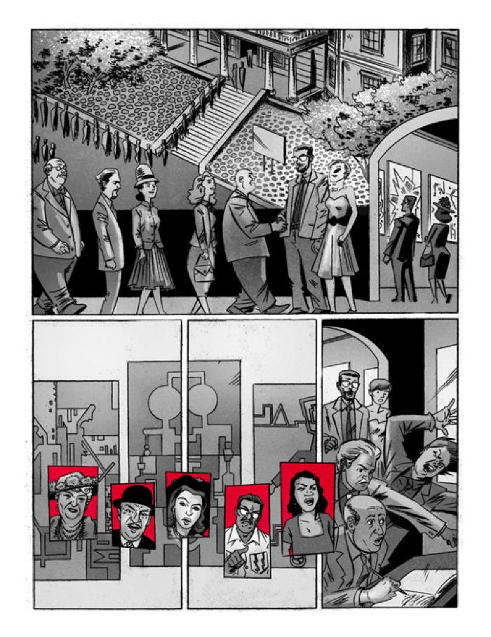 Dean Haspiel and Inverna Lockpez, Cuba: My Revolution; The Making of the Graphic Novel and Related Drawings