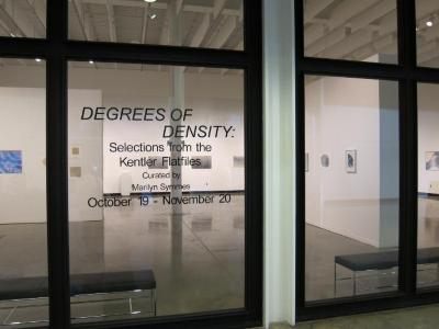 Degrees of Density: Selections from the Kentler Flatfiles (GA)