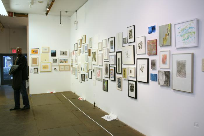 100 Works on Paper Benefit, 2009
