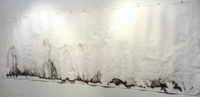 Martin Zet, Sea Drawing: New York Harbor
