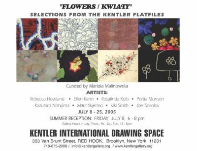 Flowers/Kwiaty: Selections from the Kentler Flatfiles
