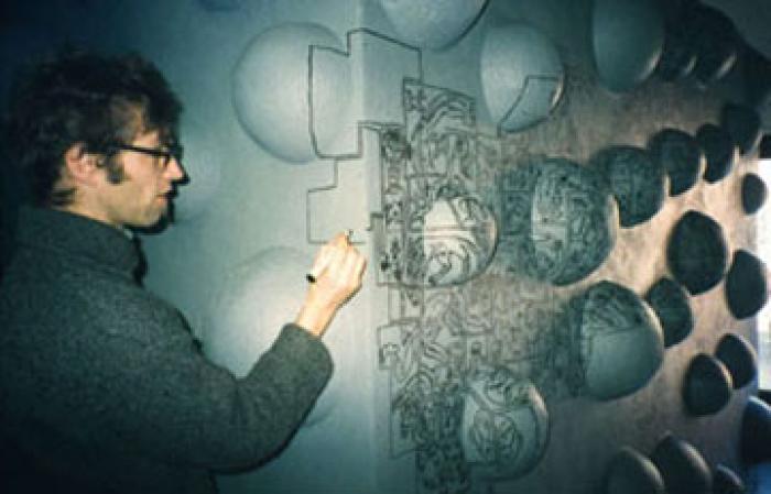 Heimo Wallner, Uli Vonbank-Schedler and Martin Dickinger, Artists from Austria