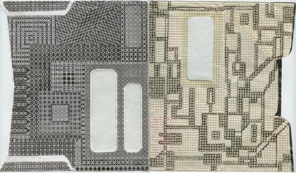 Elizabeth Duffy, Security Envelope Collage