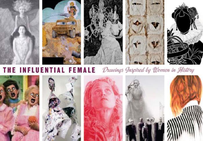 "Curator's Talk: Randall Harris, ""The Influential Female"""