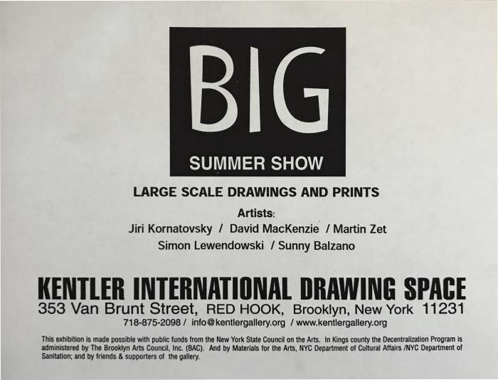BIG: Selections from the Kentler Flatfiles