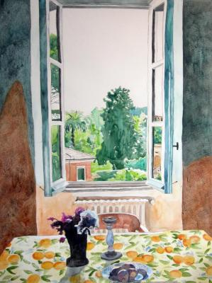 Meridith McNeal, Roman Window