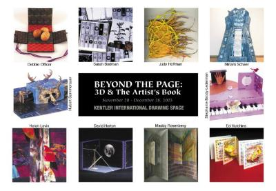 Beyond the Page: 3D & The Artist's Book