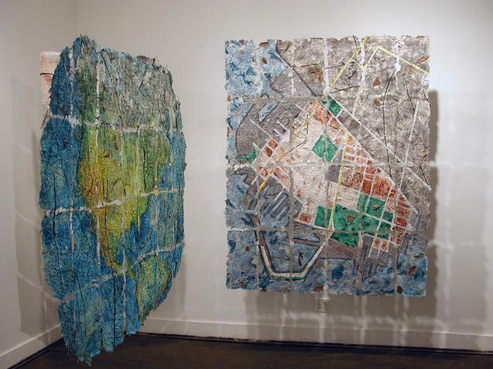 Jane Ingram Allen, Site Maps, Red Hook, Brooklyn