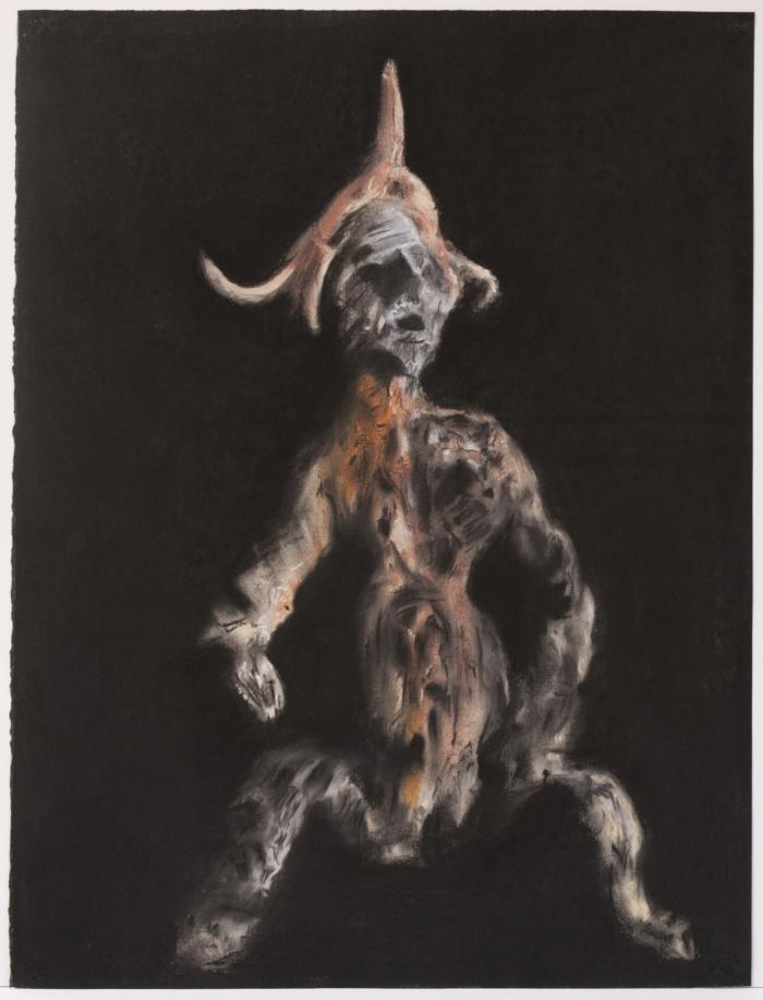 "Herb Reichert, Prima Anima, pastel on paper, 22"" x 30"", 2005"