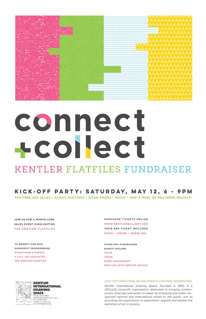 connect + collect: Kentler Flatfiles Fundraiser Exhibition