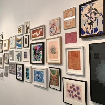 100 Works on Paper Benefit Exhibition_2019