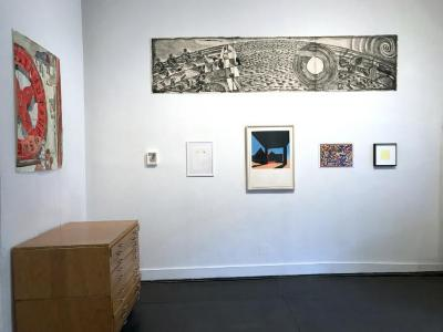 Bidding: Silent Auction Artworks, Benefit, May 18