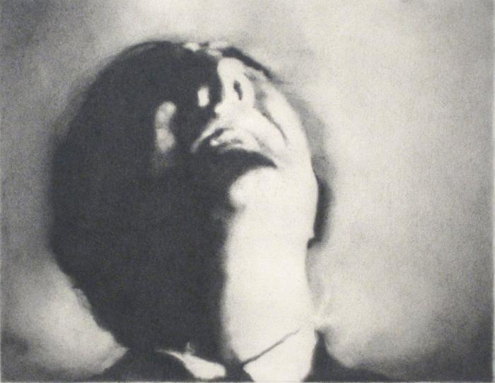 Paul Goss, Untitled (Upturned Head)