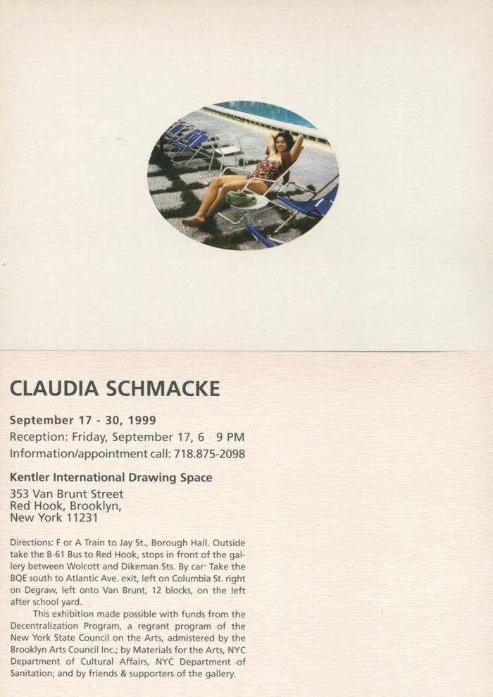 Claudia Schmacke, Installation
