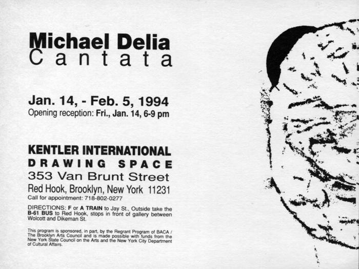 Michael De Lia, Cantata