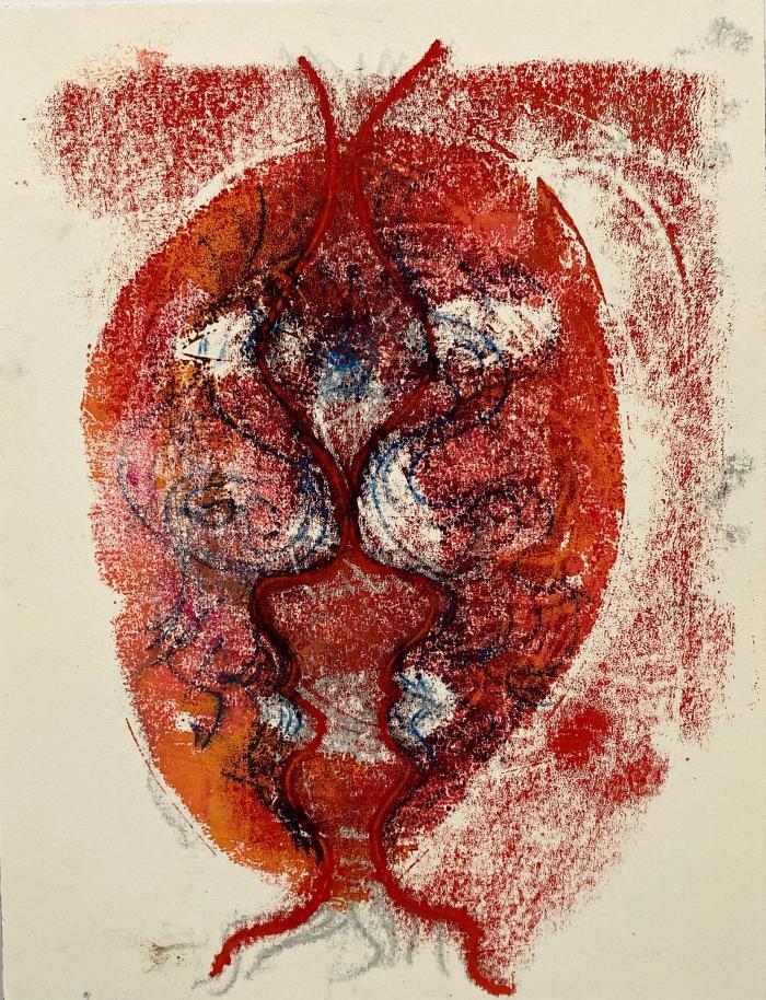 Joanne Howard, Reverse Drawing #6
