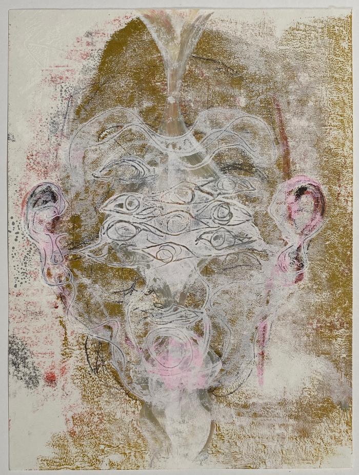 Joanne Howard, Reverse Drawing #30