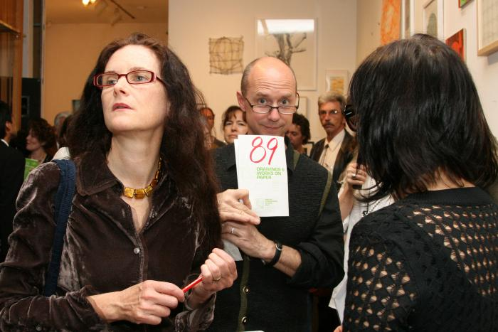 100 Works on Paper Benefit 2007