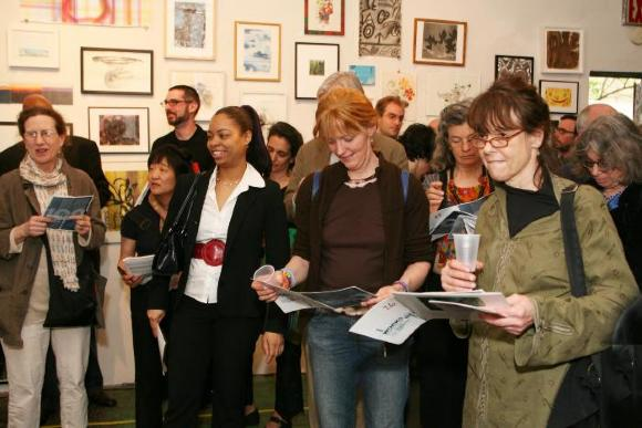 100 Works on Paper Benefit 2008