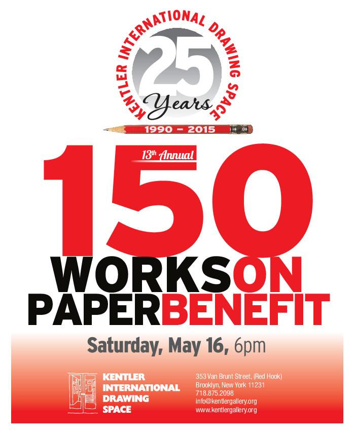100 Works on Paper Benefit, May 2015