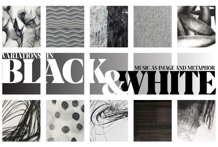 VARIATIONS IN BLACK & WHITE