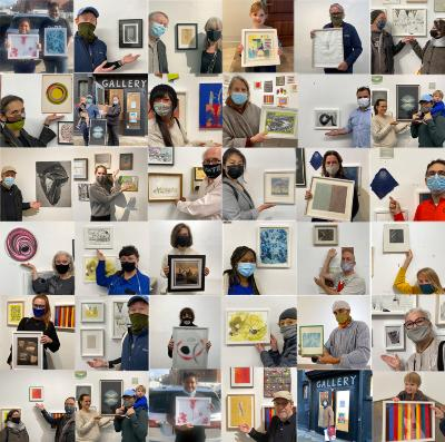 100 Works on Paper VIRTUAL BENEFIT:  Oct. 16 & 17