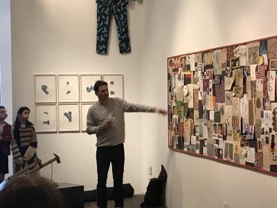 Artist's Talk with Alexander Gorlizki