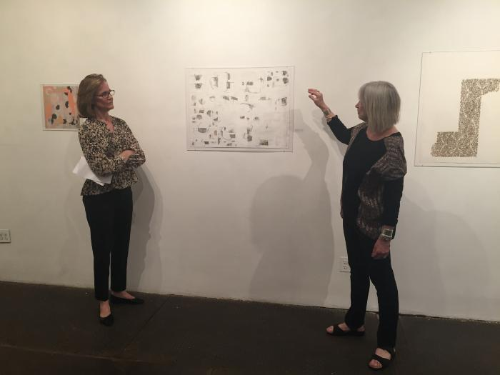 "Curator's Talk: Dita Amory, ""Mapping Spaces: Carte Blanche"""
